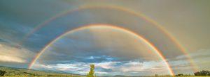 Double rainbow image