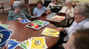 Memory activity at Adult Day Services